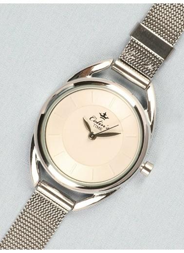 Colin's Gümüş Hasır Kordon Kadın Saat Gümüş